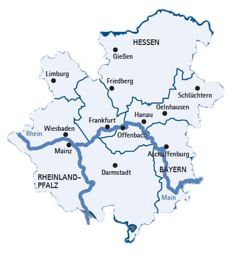 Bildergebnis für offenbach Main Region landkarte