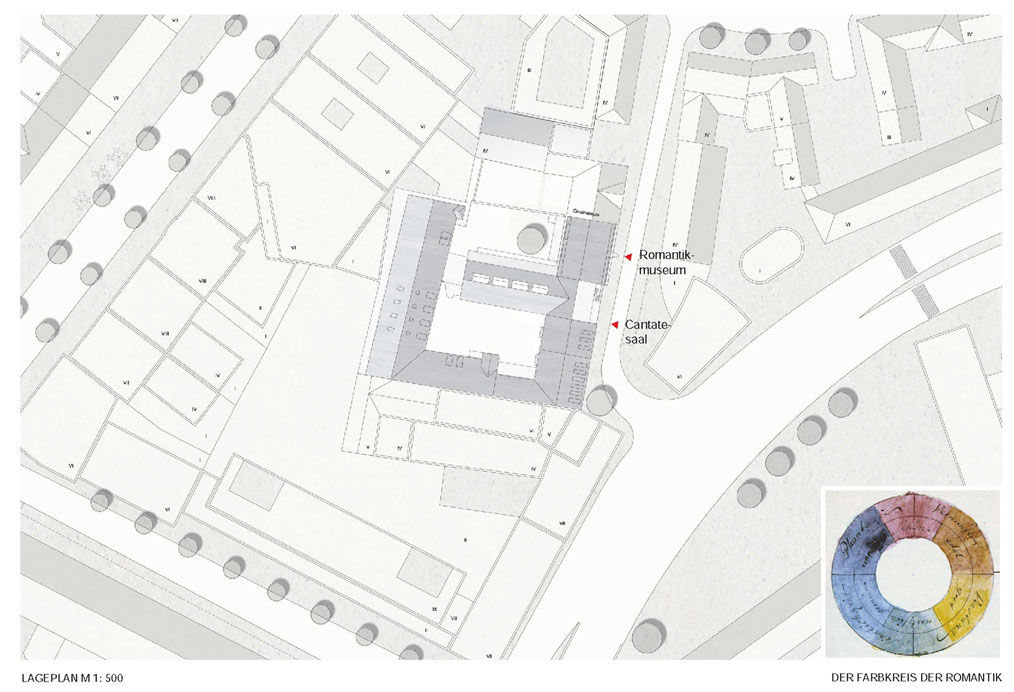 Goethehoefe Neubau Lageplan
