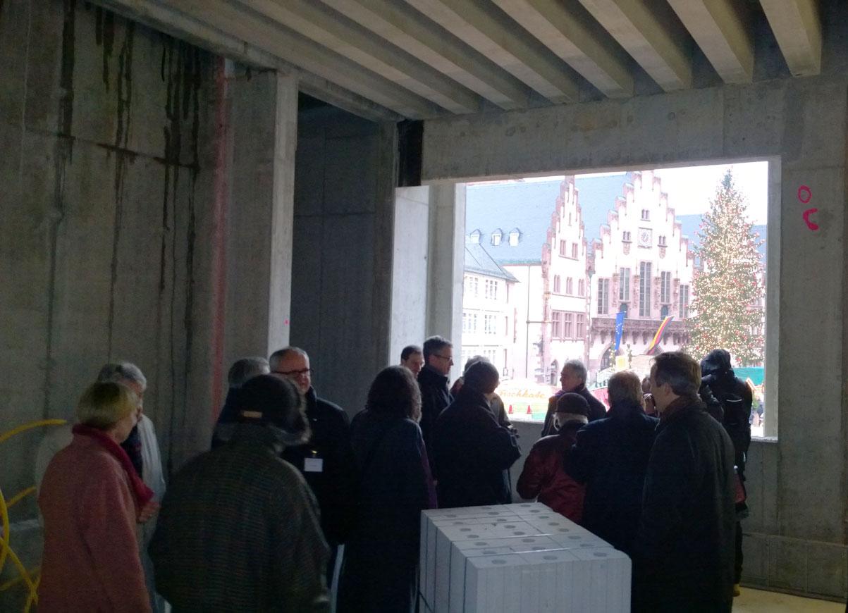 Richtfest HistMuseumRoemerberg1